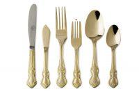 Gold Salsd/Dessert Fork