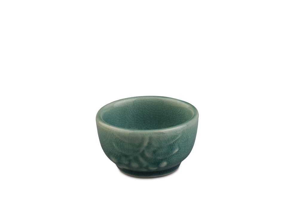 Sake Cup, Teal