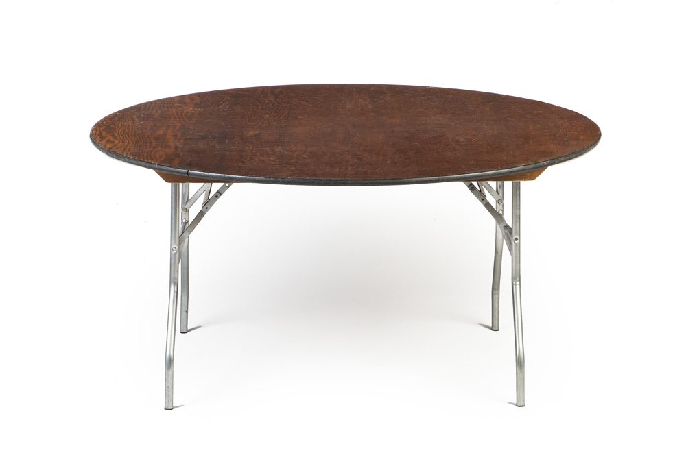 Table 60 round a b partytime rentals for 120 round table seats how many