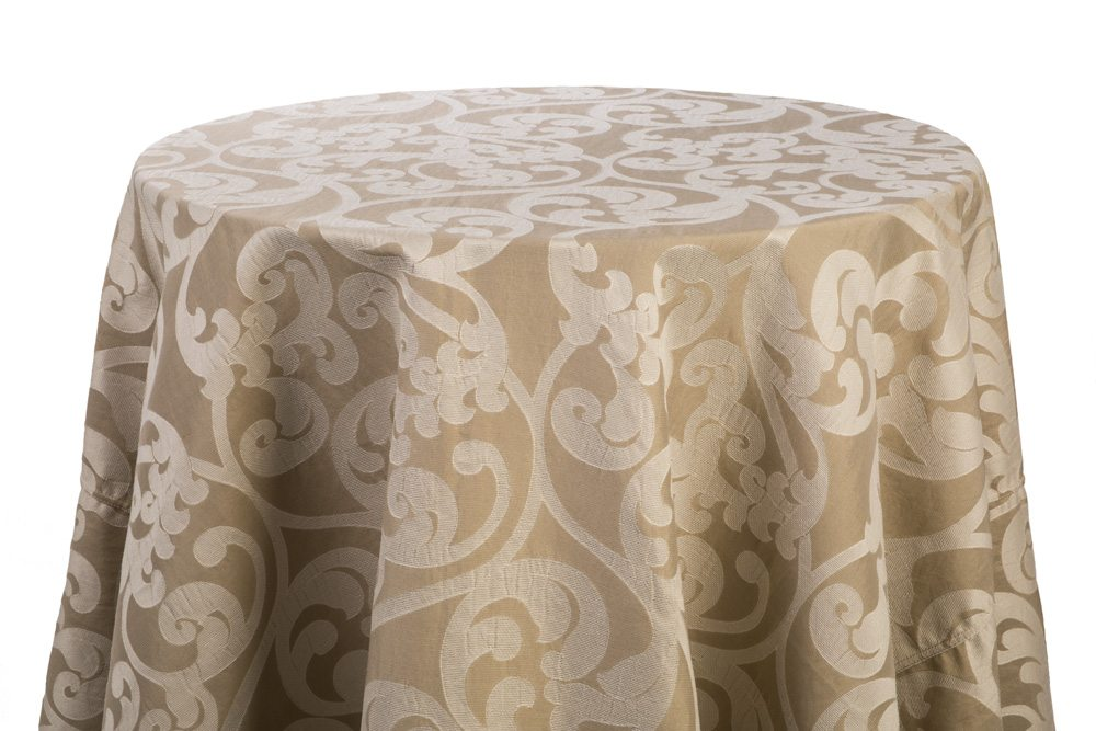 Gold/Taupe Damask