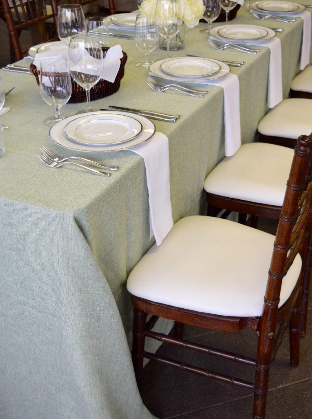 Burlap Table