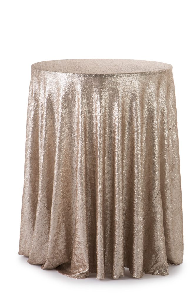 120 Quot Round Tablecloth Sequin A Amp B Partytime Rentals