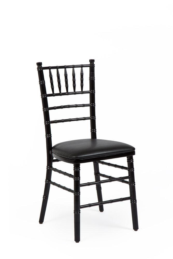 Chair, Chiavari With Black Chair Pad
