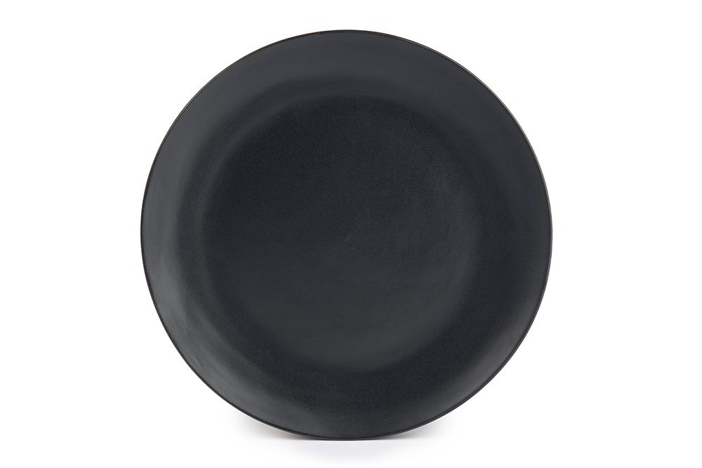 Black Slate 11 Quot Dinner Plate A Amp B Partytime Rentals
